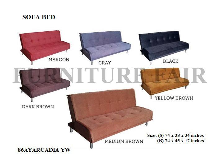 Sofa Bed 86AYARCADIA YW