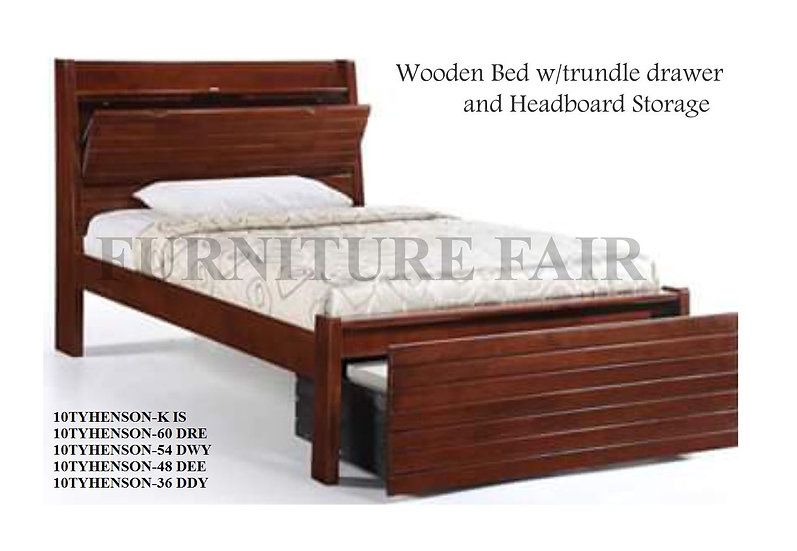 Wooden Bed Frame 10TYHENSON