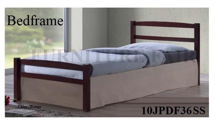 Wooden Bedframe 10JPDF36 SS