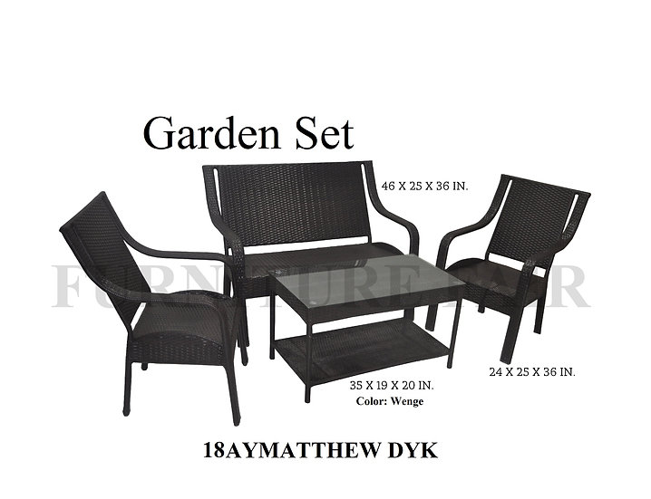 Garden Set 18AYMATTHEW DYK