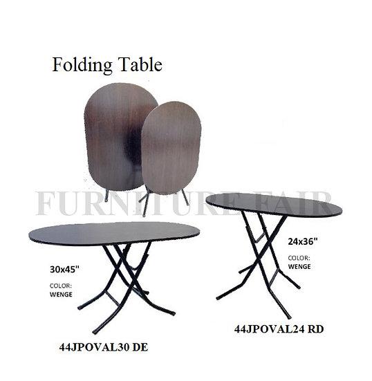 Folding Table 44JPOVAL24 RD 30DE