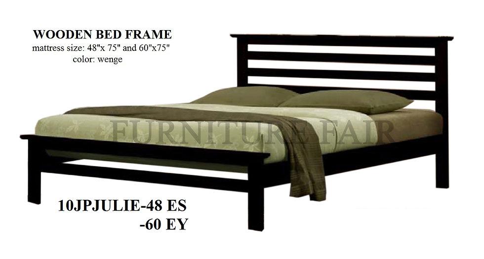 Wooden Bedframe 10JPJULIE-48ES 60EY
