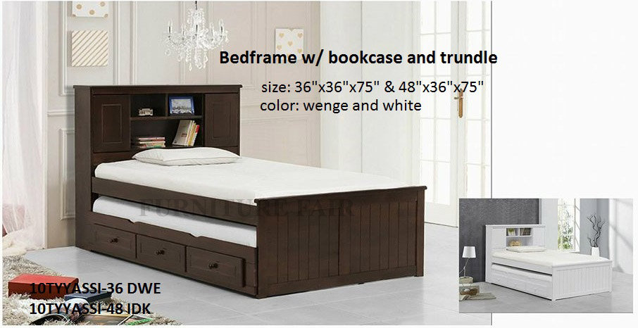 Trundle Bed 10TYYASSI 36DWE 48IDK