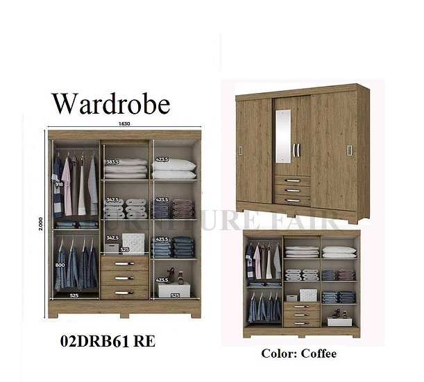 Wardrobe 02DRB61 RE