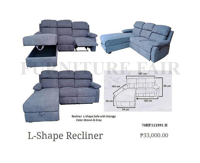 L-Shape Recliner 76HF111991 II