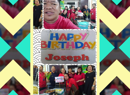 Happy Birthday Sir Joseph