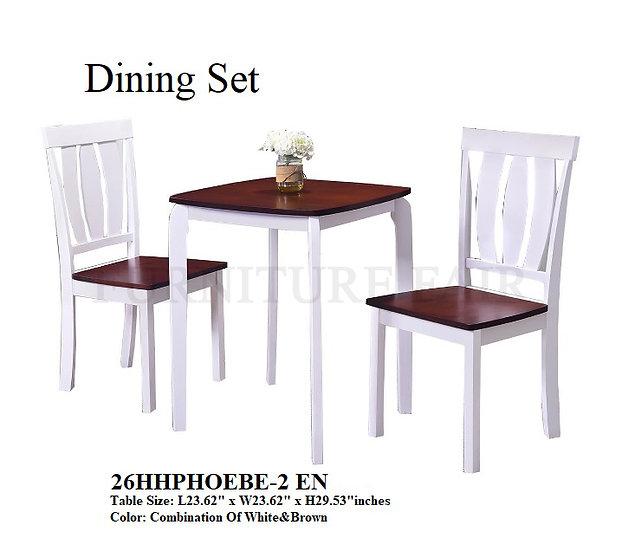 Dining Set 26HHPHOEBE-2 EN