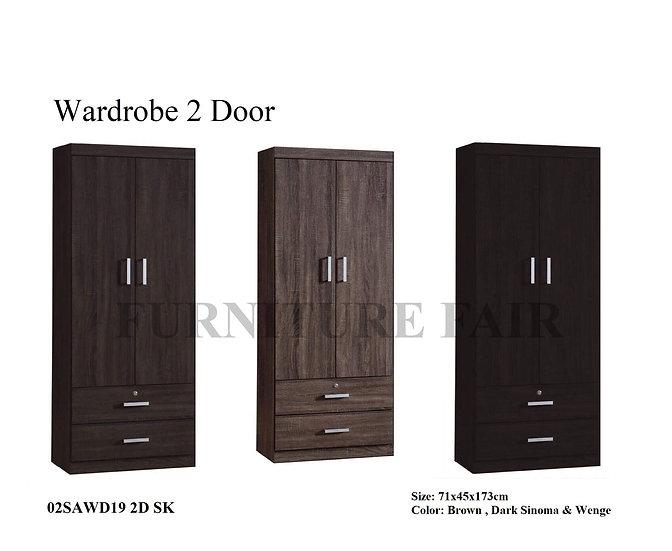 Wardrobe 02SAWD19-2D SK