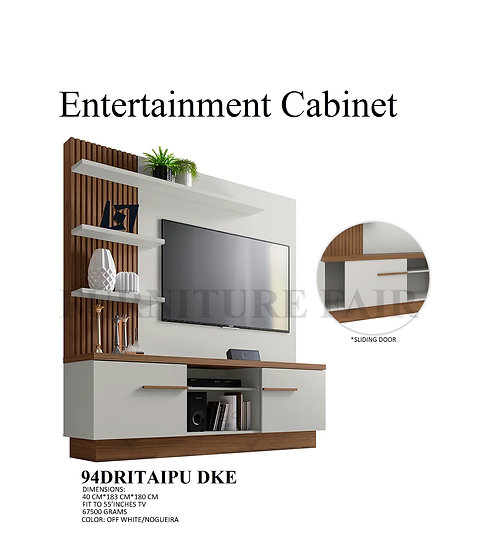Entertainment Cabinet 94DRITAIPU DKE