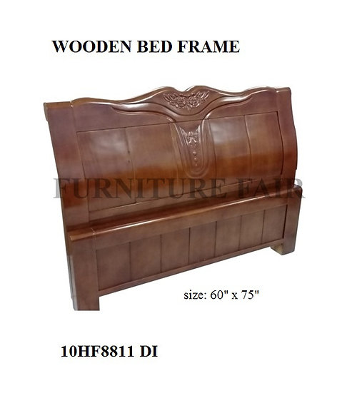 Wooden Bed Frame Queen Size 10HF8811DI