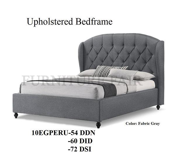 Upholstered Bedframe 10EGPERU-54DDN 60DID 72DSI