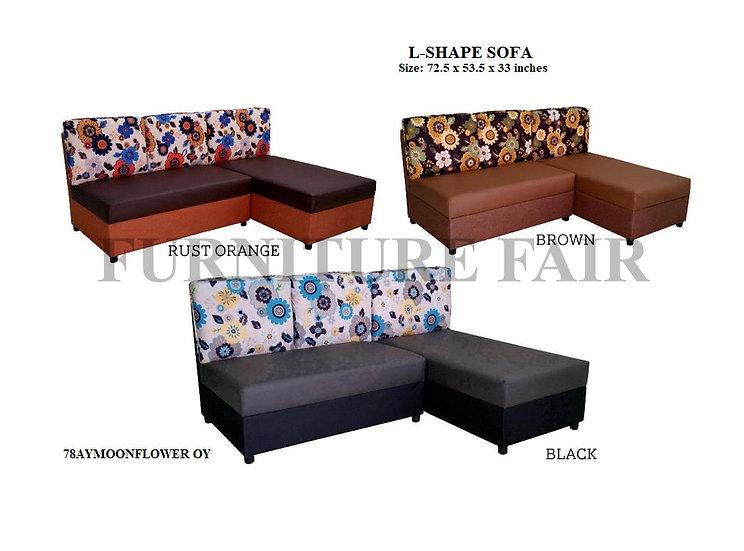 Sala Set L-Shape 78AYMOONFLOWER OK
