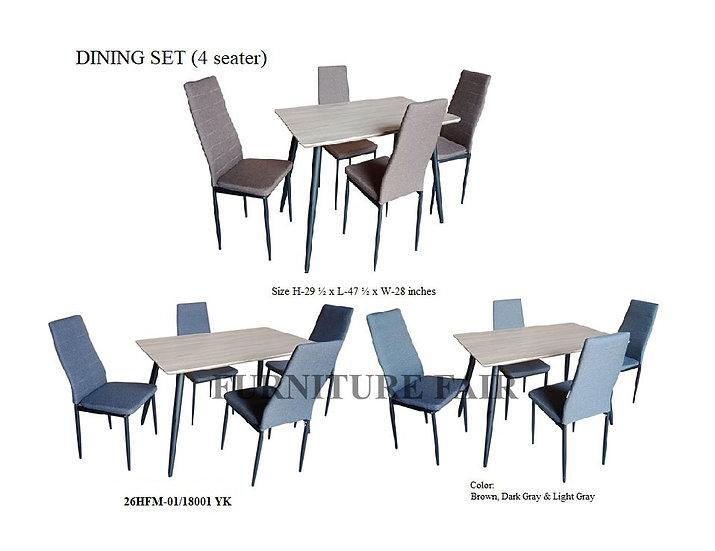 Dining Set 26HFM-01/18001 YK
