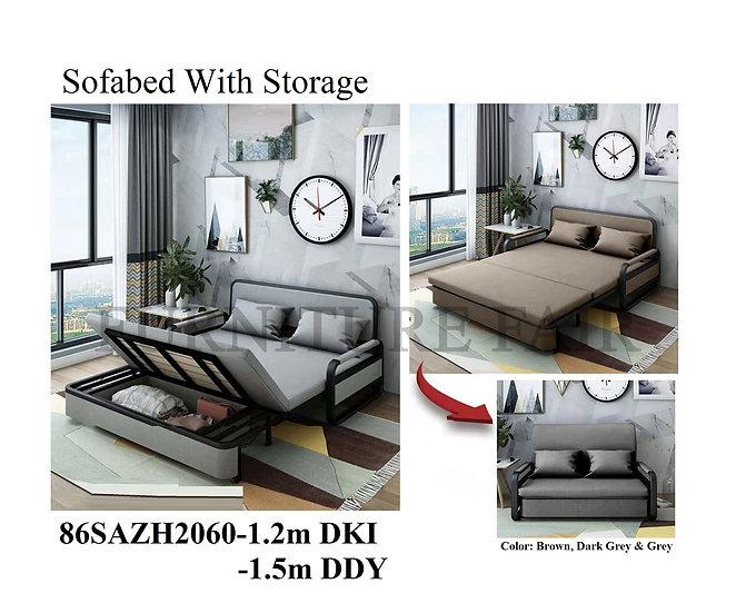 Sofa Bed With Storage 86SAZH2060-1.2m DKI 1.5m DDY