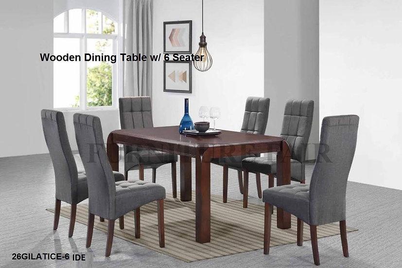 Dining Set 26GILATICE-6 IDE