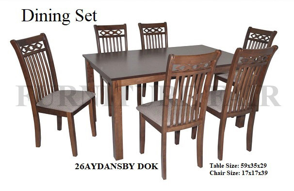 Dining Set 26AYDANSBY DOK