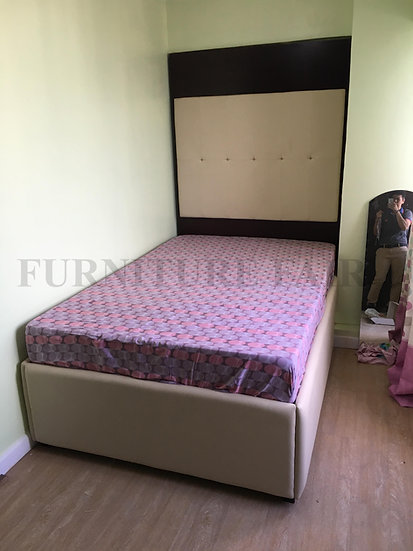 Master's Bedframe with Side table