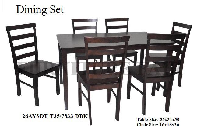 Dining Set 26AYSDTT35/7833 DDK
