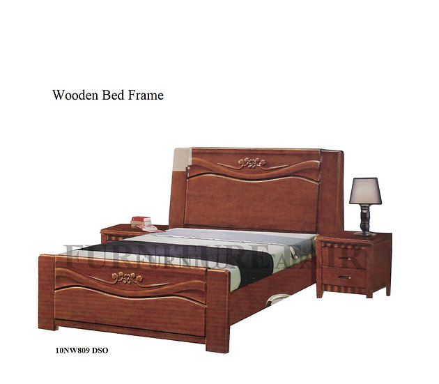 Wooden Bed Frame 10NW809 DSO