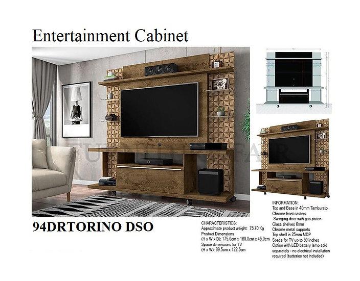 Entertainment Cabinet 94DRTORINO DSO