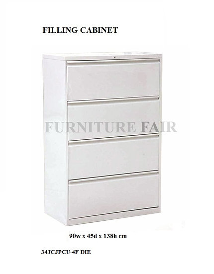 Lateral Filing Cabinet 4 Layers 34JCJPCU-4F DNK