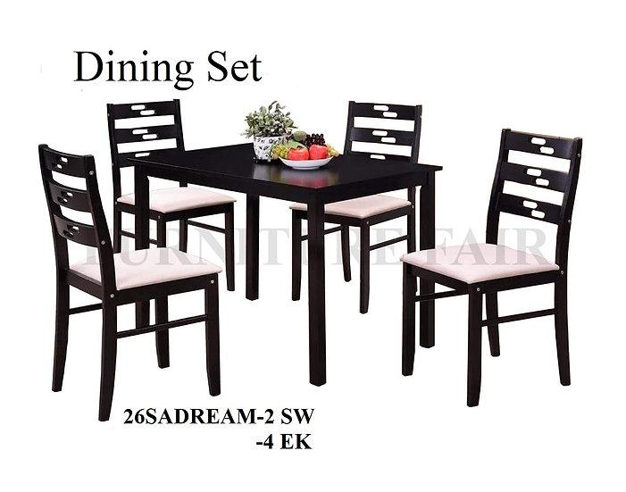 Dining Set 26SADREAM 2SW 4EK