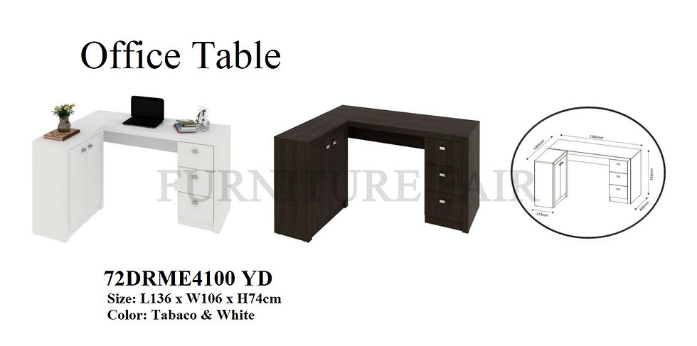Office Table 72DRME4100 YD