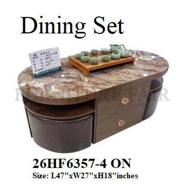 Dining Set 26HF6357-4 ON