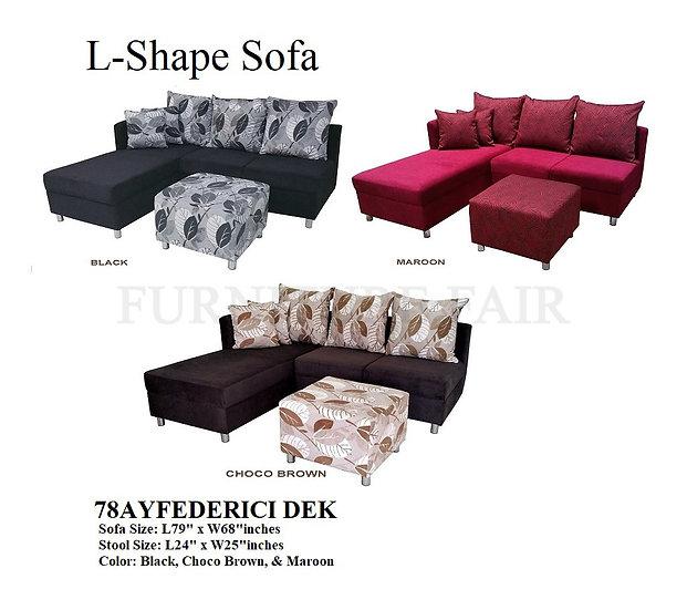 L-Shape Sofa 78AYFEDERICI DEK