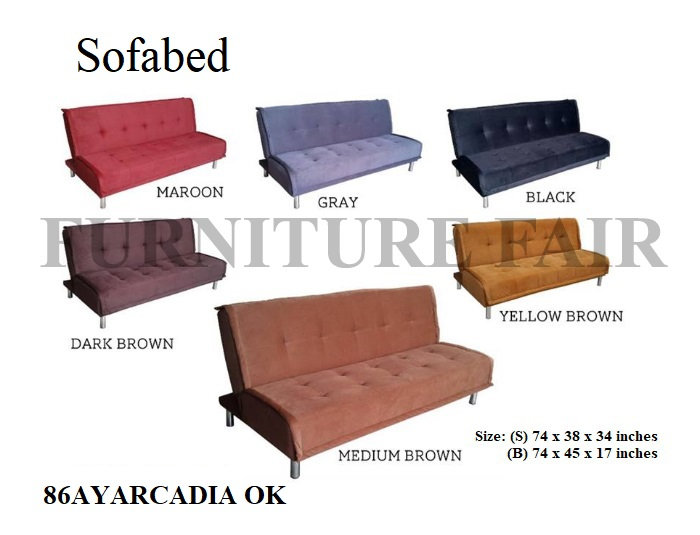 Sofa Bed 86AYARCADIA OK