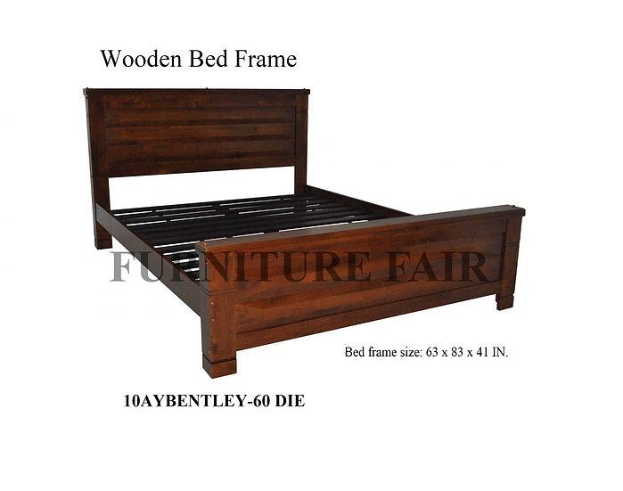Wooden Bed Frame 10AYBENTLEY-60 DIE