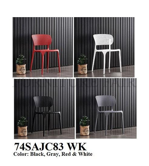 Plastic Chair 74SAJC83 WK