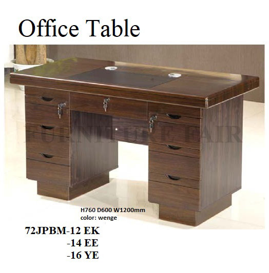 Office Table 72JPBM-12 EK -14EE -16YK