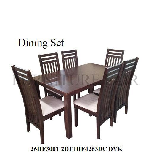 Dining Set 26HF3001-2DT+4263DC DYK