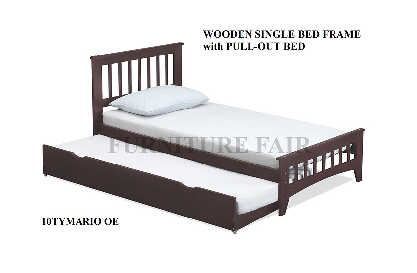 Bed Frame Single Size 10TYMARIO OE