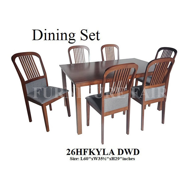 Dining Set 26HFKYLA-6 DWD