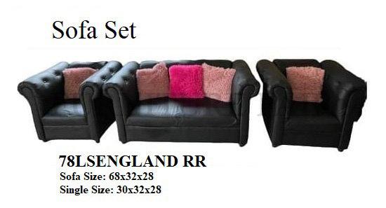 Sofa Set 78LSENGLAND RR
