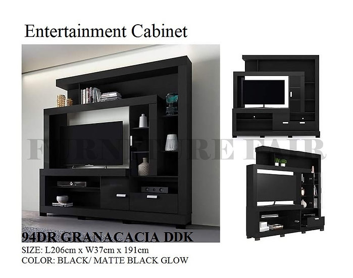 Entertainment Cabinet 94DRGRANACACIA DDK