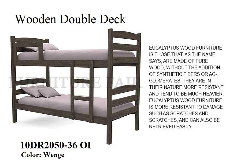 Wooden Double Deck 10DR2050-36 OI