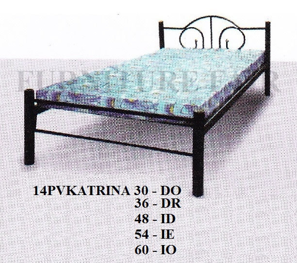 Steel Bed 14PVKATRINA 30DO 36DR 48ID 54IE 60IO