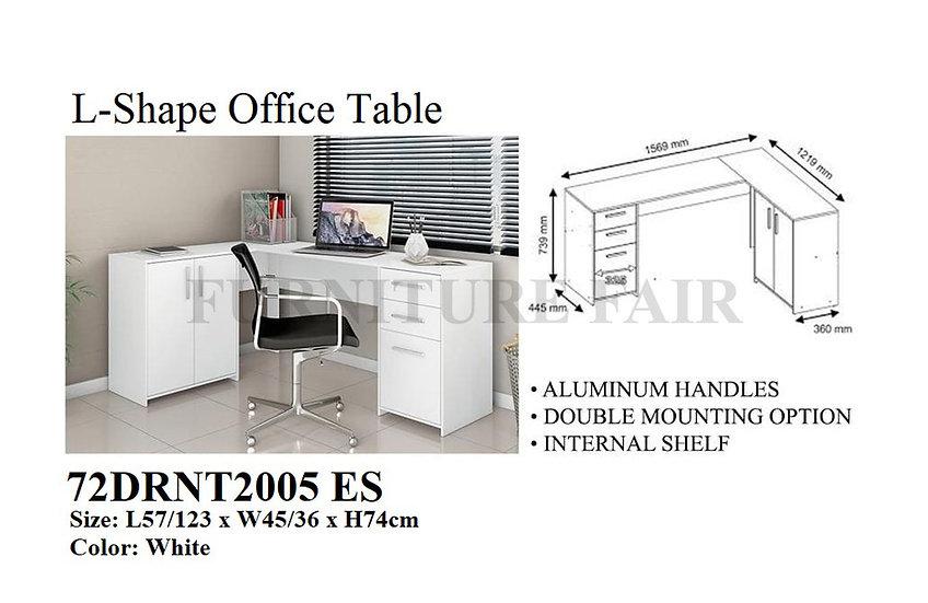 L-Shape Office Table 72DRNT2005 ES