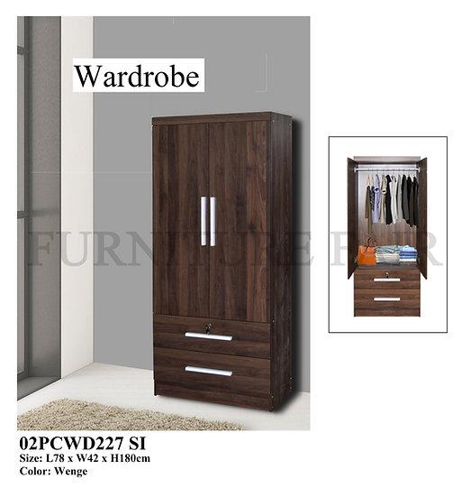 Wardrobe 02PCWD227 SI