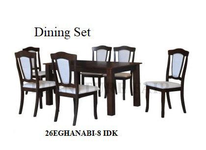 Dining Set 26EGHANABI-8 IDK