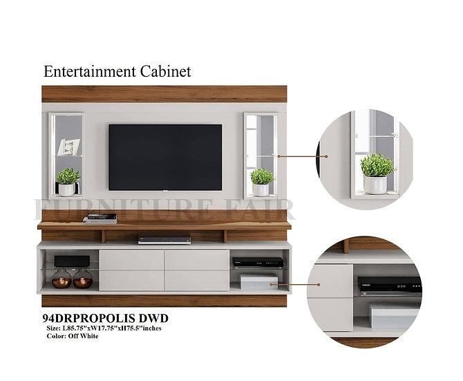 Entertainment Cabinet 94DRPROPOLIS DWD