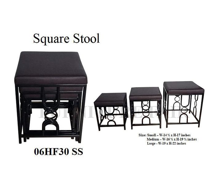 Square Stool 06HF30 SS