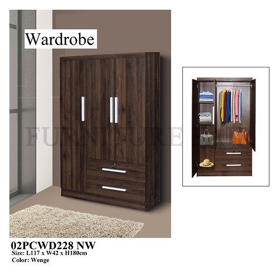 Wardrobe 02PCWD228 NW