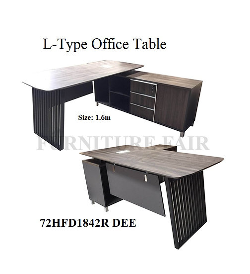 L-Type Office Table 72HFD1842R DEE