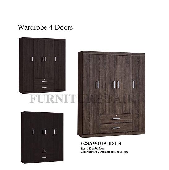 Wardrobe 02SAWD19-4D EE