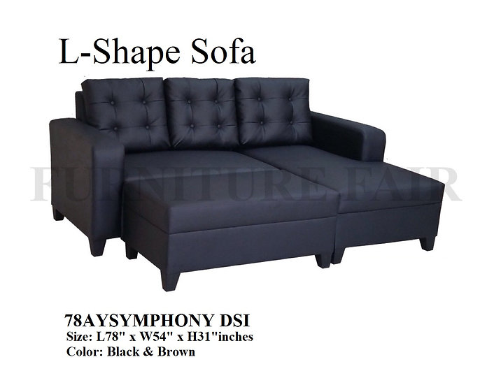 L-Shape Sofa Set 78AYSYMPHONY-S DSI
