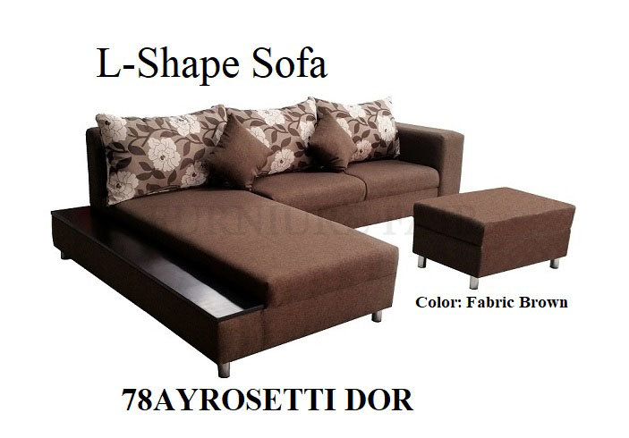 L-Shape Sofa 78AYROSETTI DOR